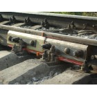 Insulating gaskets for rails